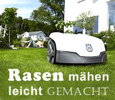Automower Husqvarna - Rasenmäher - Rasenpflege leicht gemacht