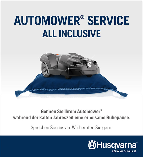 Automower Husqvarna - Inspektion im Winter