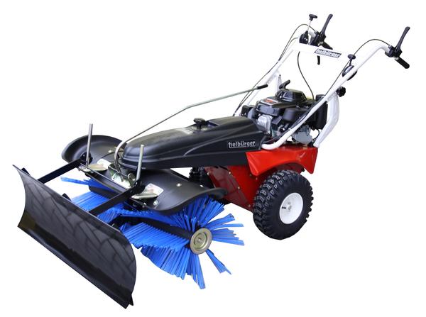 Schmutz- und Schneekehrmaschine mit Benzinmotor